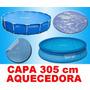 Capa Aquecedora Solar Piscina Intex 305 Cm 3,05 M Original