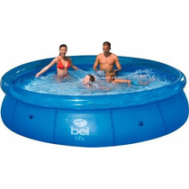 Piscina Inflavel 1400lts Adulto Infantil Oferta Do Mês!!
