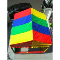 Telhado ( Cobertura) P/ Piscina De Bolinha 1,5 X 1,5