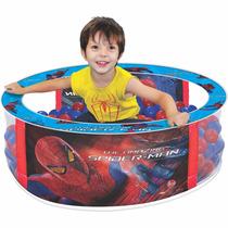 Piscina De Bolinhas Spider Man Infantil Homem Aranha - Líder