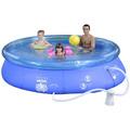 Piscina Mor Splash Fun 4600lt Combo C/filtro, Capa E Forro