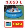 Piscina Intex Inflável 3853 Litros Std + Capa * N Bestway