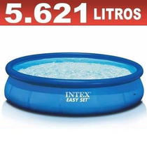 Piscina Inflável Easy Set 5621 Litros Intex - Pronta Entrega