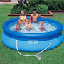 Kit Completo Piscina Inflável Intex Easy Set 3853 Litros