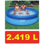 Piscina Inflável Easy Set 2419 Litros Intex - Pronta Entrega