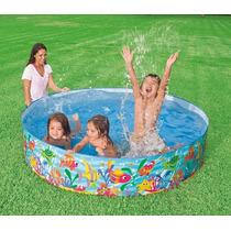 Piscina de plastico redonda piscinas e infl veis for Lona piscina redonda