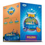 Piscina Splash Fun Mor 6700l Estrutura De Lona