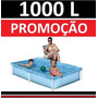 Piscina Vinil 1000 L Inflavel Playground Capa Infantil #old0