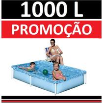 Piscina Vinil 1000 L Inflavel Playground Capa Infantil Mor