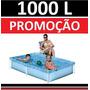 Piscina Vinil 1000 L Inflavel Playground Capa Infantil #oxom
