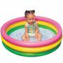 Piscina Inflavel Infantil Colorida Redonda Pvc 300 Litros