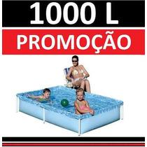 Piscina Vinil 1000 L Inflavel Playground Capa Infantil #6jgi