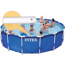 Piscina Intex 14.614 Litros Kit Com Filtro E Bomba 110v