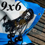 Lona 9x6 Branca Azul Barco Telhado Palco Evento 300 Micras