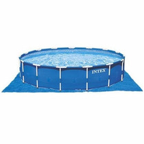 Piscina Intex 12.422 Litros Kit Com Filtro E Bomba 110v