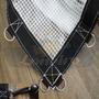 Lona 3x3 Transparente Cobertura Toldo Capa Piscina 400micras