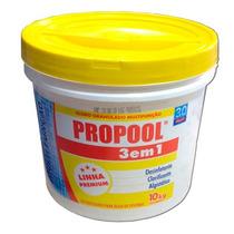 Cloro Granulado - Propool - 3 Em 1 - Balde 10 Kg