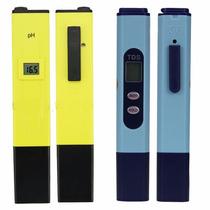 Kit Tds Teste + Ph Teste Digital Piscina, Água, Aquario 2pcs