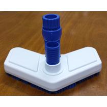 Aspirador Piscina Escova Veico/ Fluidra -plástico Com Escova