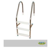 Escada Inox 3 Degraus Para Piscina Meka