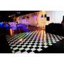 Tapete De Dança Xadrez - 2x4m - 8m² - Piso Xadrez Festa