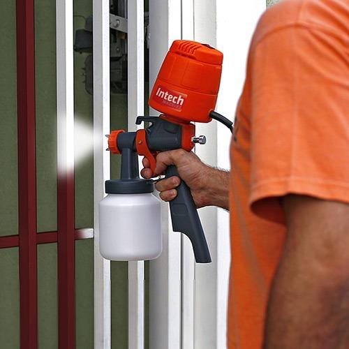 Pistola pintura el trica 450 watt mini compressor portatil - Pistola pintura compresor ...