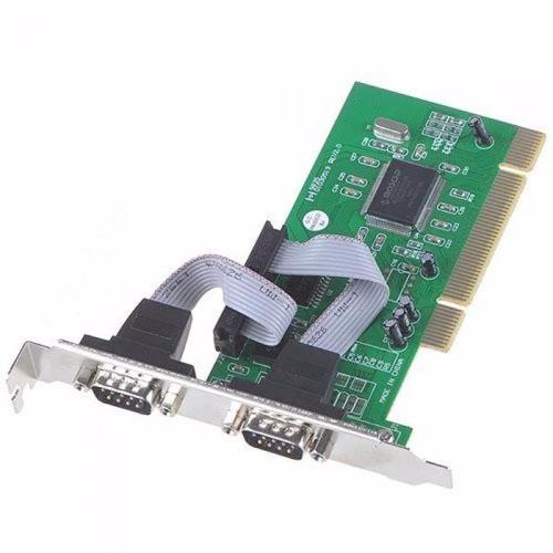 Placa Pci Com 2 Portas Serial Rs232 Db9