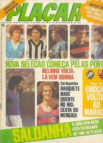 Placar Nº 463 - 1979 - Poster Ponte Preta