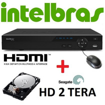 Dvr Intelbras 16 Canais Stand Alone 2014 Vd 3116 + Hd 2 Tb