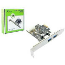 Placa Usb 3.0 Pci-express Pcie Com 2 Portas Para Pc Knup