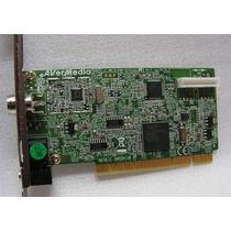 Placa De Captura Pci Av Tv Tunner C/rádio Fm Vários Modelos