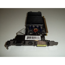 Placa De Vídeo Xfx Geforce 7200gs 256mb/512tc Ddr2 Pci-e
