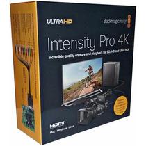 Placa De Captura Blackmagic Intensity Pro 4k Pcie