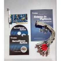 Placa Geovision Gv800 Completa 16cameras 4canais Audio V 8.5