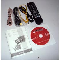 Controle+cabos+cd Instalação Encore Enltv-fm3 Sem Placa
