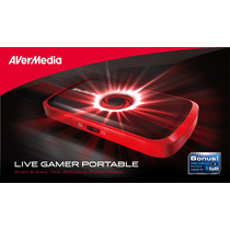 Avermedia Live Gamer Portable Video Gravador De Mesa Hdmi
