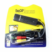 Easy Cap Placa De Captura De Vídeo Usb 2.0 Ps3 Xbox 360 Pc
