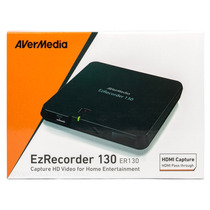Gravador De Mesa Placa Video Avermedia Ezrecorder 130hd Hdmi