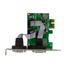 Placa Pci-e Express X1 Com 2 Portas Serial Db9 Rs232
