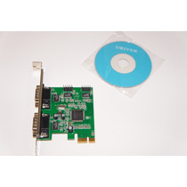 Placa Multiserial Pci-express 4 Serial -moschip Mcs9904cv-aa