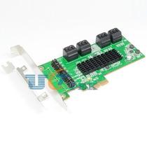 Placa Pci-e C/ 8 Portas Sata 3 Chipset Marvell 9705