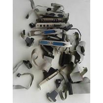 Flat Cable Para Pc Antigos Lote 11 Peças Usado