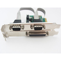 Placa Multiserial Pci-express 1 Paralela 2 Serial Flexport