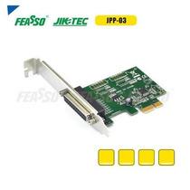 Placa Pci Express X1 (mini Pci) 1p Paralela + Low Profile
