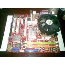 Kit Placa Mãe Positivo M1945 Aa Com 1gb De Memoria E Process