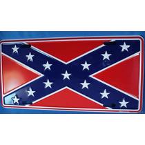 Placa Confederados Carro