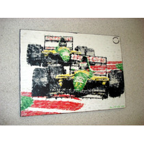 Placa Decorativa 37x28cm * Corrida F1 Antiga *.art El Lulu