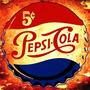 Placa Decorativa 18896 Pepsi Cola Refrigerante, Bar Caminhão