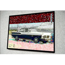Placa Decorativa 38x27cm * Simca Chambord * .art .by El Lulu