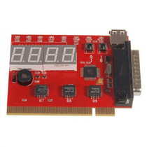 Placa Diagnostico Pci Pc Analyzer 4 Digitos.